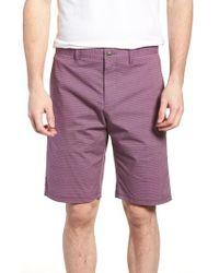 83a49c1326 W.r.k. - Textured Stretch Shorts - Lyst