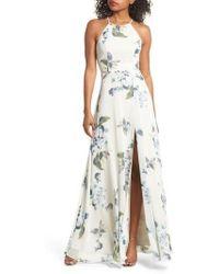 Jenny Yoo - Collection Kayla Ohana Print Gown - Lyst