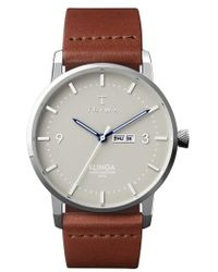 Triwa - Mist Klinga Leather Strap Watch - Lyst