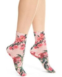 Stance - May Flowers Ankle Socks - Lyst