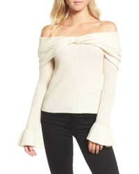 Ella Moss | Off The Shoulder Sweater | Lyst