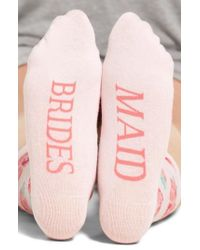 Sockart - Bridesmaid Crew Socks - Lyst