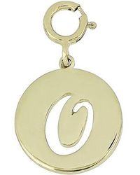 Bony Levy - 14k Gold Initial Charm (nordstrom Exclusive) - Lyst