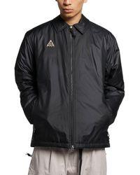 ba4119157b Lyst - Nike Acg Woven Hooded Jacket in Purple for Men