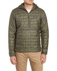 Patagonia Nano Puff Bivy Regular Fit Water Resistant Jacket - Green