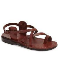 Jerusalem Sandals - The Good Shepard Leather Sandals  - Lyst
