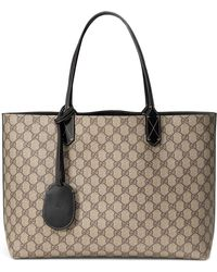 Gucci - Medium Turnaround Reversible Leather Tote - - Lyst