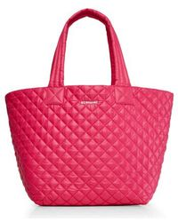 MZ Wallace - 'medium Metro' Quilted Lacquer Tote - - Lyst
