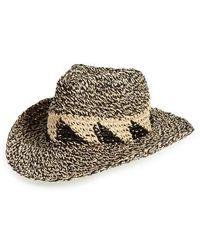 Caslon - Caslon Marled Straw Cowboy Hat - - Lyst