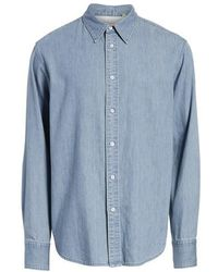 Rag & Bone - Fit 3 Chambray Denim Shirt - Lyst
