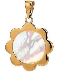 Asha | Flower Mother-of-pearl Charm | Lyst