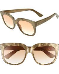 a5ea74cee83 Gucci - 56mm Sunglasses - - Lyst