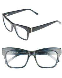 L.A.M.B. - 50mm Optical Rectangular Glasses - Lyst