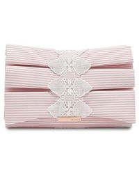 Ted Baker - Box Pleat Evening Bag - - Lyst