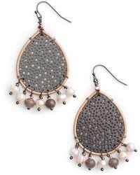 Nakamol | Teardrop Earrings | Lyst