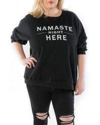 Slink Jeans - Namaste Oversize Sweatshirt - Lyst