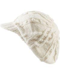 Helen Kaminski - Knit Merino Wool Baker Boy Cap - Lyst