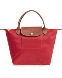 Longchamp - Le Pliage Small Nylon Top Handle Tote - Lyst