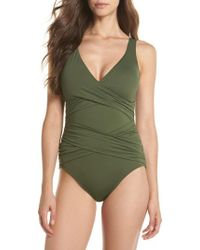 Tommy Bahama - Pearl One-piece Swimsuit - Lyst