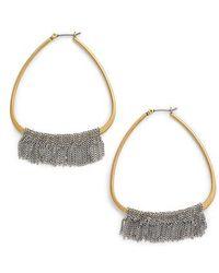 Serefina - Chain Fringe Earrings - Lyst