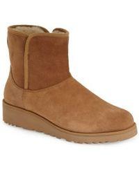 UGG - Women's Kristin Classic Slim Sheepskin Boots - Lyst