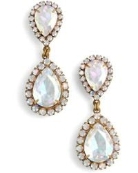 Loren Hope - Crystal Drop Earrings - Lyst