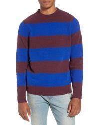 The Rail - Chenille Stripe Sweater - Lyst