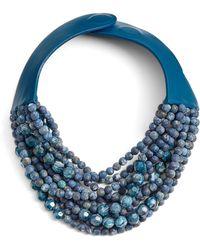 Fairchild Baldwin - Marcella Beaded Collar Necklace - Lyst