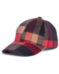 Treasure & Bond - Plaid Flannel Baseball Cap - Lyst