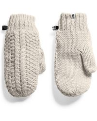 The North Face - Cable Minna Mitten - Lyst
