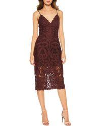Bardot - Gia Lace Pencil Dress - Lyst