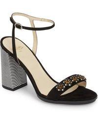 Butter Shoes | Butter Helena Block Heel Sandal | Lyst