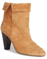 Isabel Marant | Darilay Topstitched Boot | Lyst