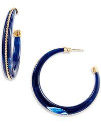 Gas Bijoux Poeme Earrings In Metallic Lyst