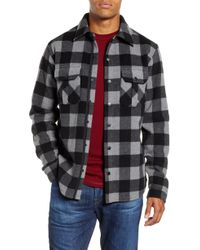 Smartwool - Anchor Line Flannel Shirt Jacket - Lyst