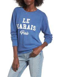 Daydreamer - Le Marais Paris Graphic Sweatshirt - Lyst