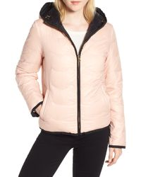 Kate Spade - Reversible Quilted Down Jacket - Lyst