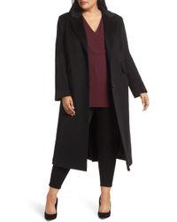 Fleurette - Maxi Reefer Wool Coat - Lyst