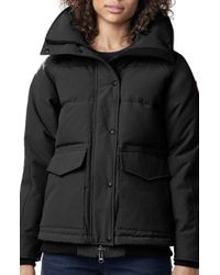 Canada Goose - Deep Cove Arctic Tech Water Resistant 625 Fill Power Down Bomber Jacket - Lyst