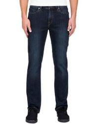 Volcom | 'solver' Straight Leg Jeans | Lyst