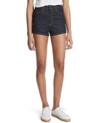 Rag & Bone - Ellie Denim Shorts - Lyst