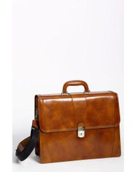 Bosca - Double Gusset Briefcase - - Lyst