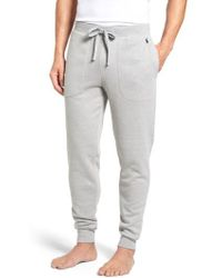 Polo Ralph Lauren - Brushed Jersey Cotton Blend Jogger Pants - Lyst
