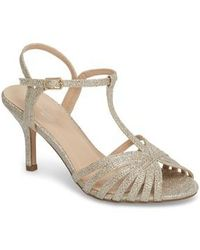 Paradox London Pink - Maggie T-strap Sandal - Lyst