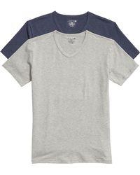 Joe's - 2-pack V-neck T-shirt, Blue - Lyst
