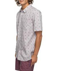 Quiksilver - Kamanoa Short Sleeve Shirt - Lyst
