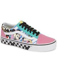 af5dd4cc22b Vans - X Disney Mickey Mouse Ua Old Skool Low-top Sneaker - Lyst