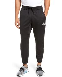 e8712122504878 Lyst - adidas 'beyond The Run' Slim Fit Climalite French Terry ...
