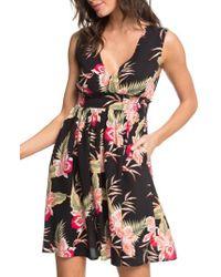 Roxy - Angelic Grace Print Dress - Lyst