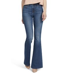 Ella Moss - High Waist Flare Jeans - Lyst
